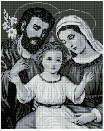 Святе сімейство SP067 Алмазна мозаїка IF