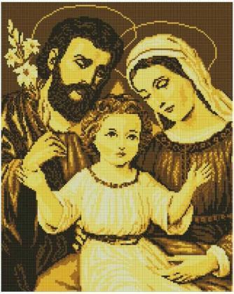 Святе сімейство SP068 Алмазна мозаїка IF