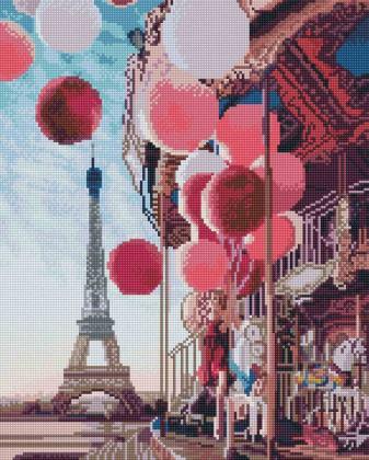 Париж SP082 Алмазна мозаїка IF