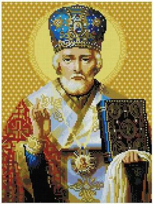 Святий Миколай ST447 Алмазна мозаїка IF