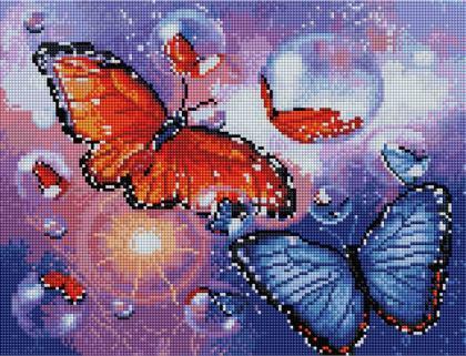 Казкові метелики ST448 Алмазна мозаїка IF