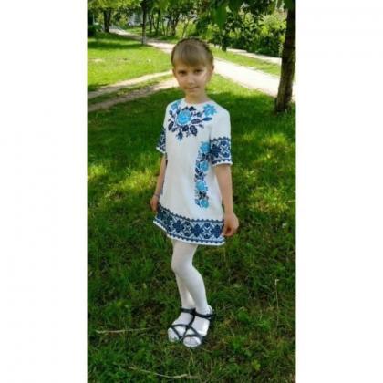 Заготовка дитячого платтячка ПДкр СЖ-033-б Гармонія