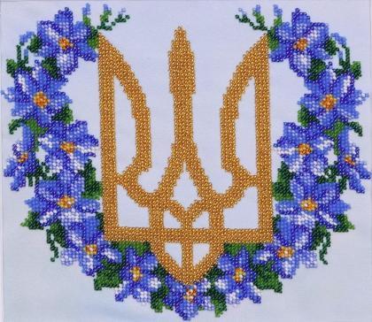Герб з барвінком
