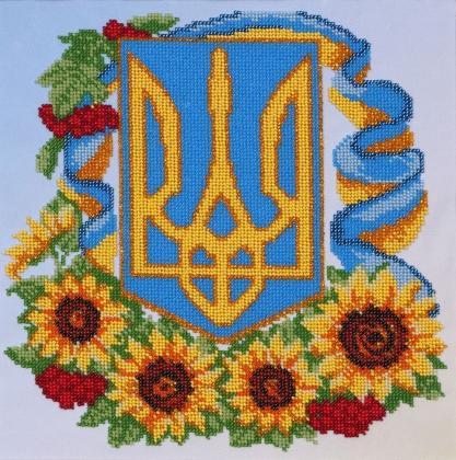 Герб з квітами