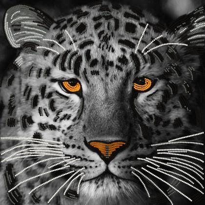 Сріблястий леопард TG-047a Світарт