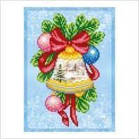 Різдвяний дзвіночок ТН-1214 ВДВ