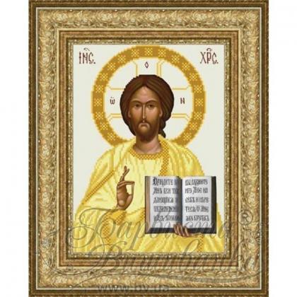 Ісус Вседержитель ТО-056 ак Барвиста вишиванка