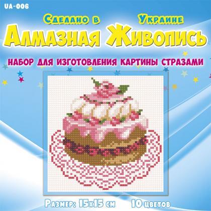 Торт UA-006 Алмазна мозаїка