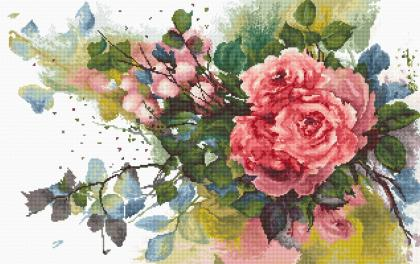 Червона троянда В2383 Luca S