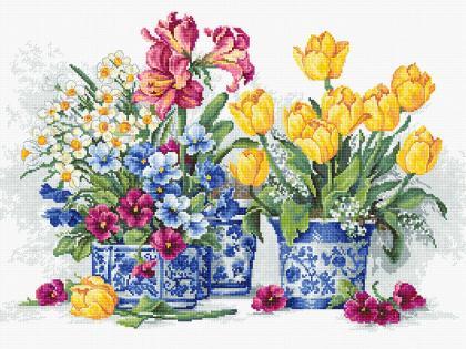 Весняний сад В2385 Luca S