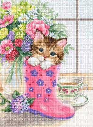 Симпатичне кошеня В2390 Luca S