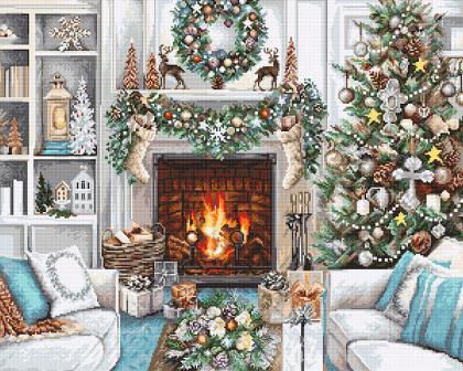 Різдвяний Інтер'єр В2394 Luca S