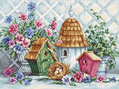 Гніздечко в саду В2396 Luca S