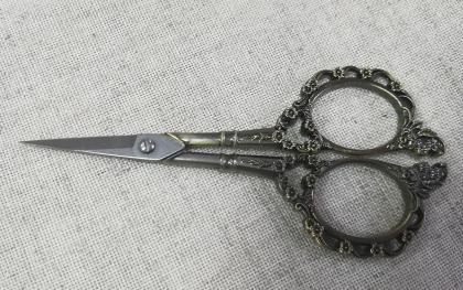 Ножиці Вікторіанські НВВ-бронза