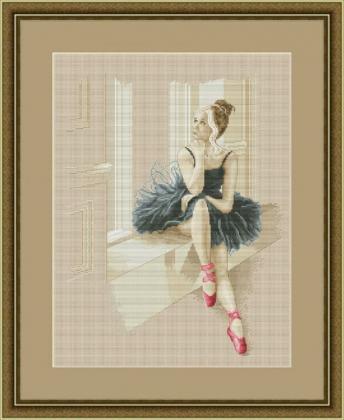 Балерина біля вікна