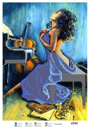 Дівчина в синьому ЮМА 4594 ЮМА