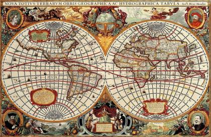 Історична карта Землі
